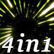 Neon Scene - VJ Loop Pack (4in1) - VideoHive Item for Sale