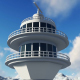 Airport Radar Communications Tower - VideoHive Item for Sale