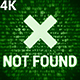 Not Found 4K (2 in 1) - VideoHive Item for Sale