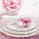 Place setting in pink tone - PhotoDune Item for Sale