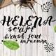Helena script Brush Regular Font