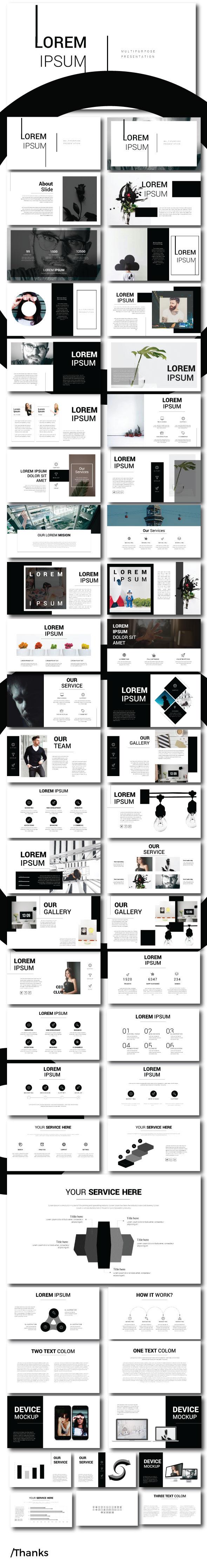Lorem Ipsum - Google Slide - Google Slides Presentation Templates