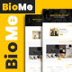 BioMe - Presonal & Corporate Website Template