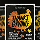 Thanksgiving Flyer Vol.6