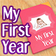 My First Year-Baby Photo Album - VideoHive Item for Sale