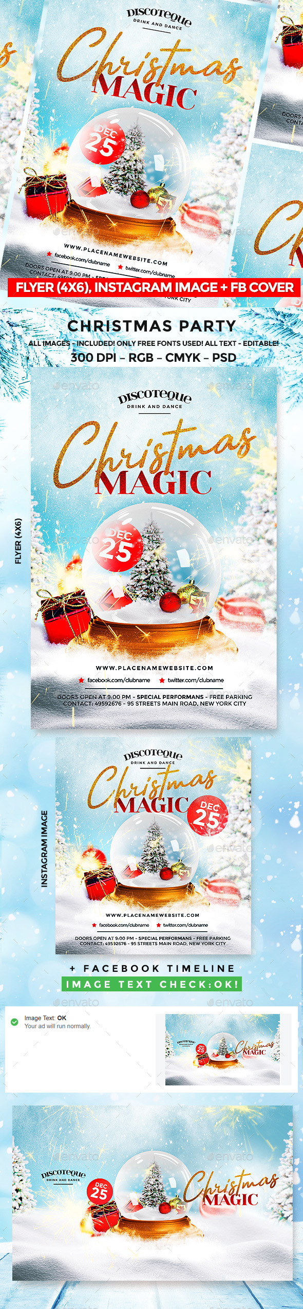 Christmas Party - Flyers Print Templates