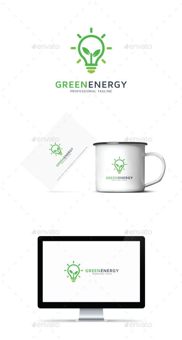 GraphicRiver Green Energy Logo 20929278