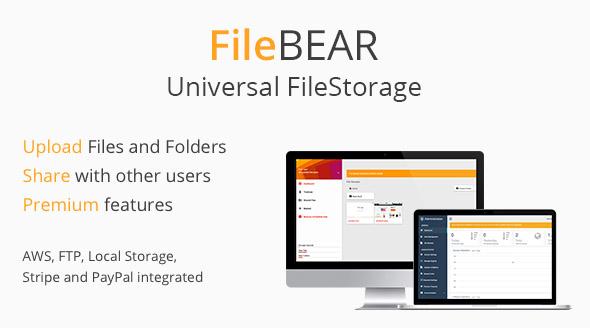 FileBear- Premium File Sharing - CodeCanyon Item for Sale