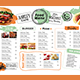 Cafe Menu Template - GraphicRiver Item for Sale