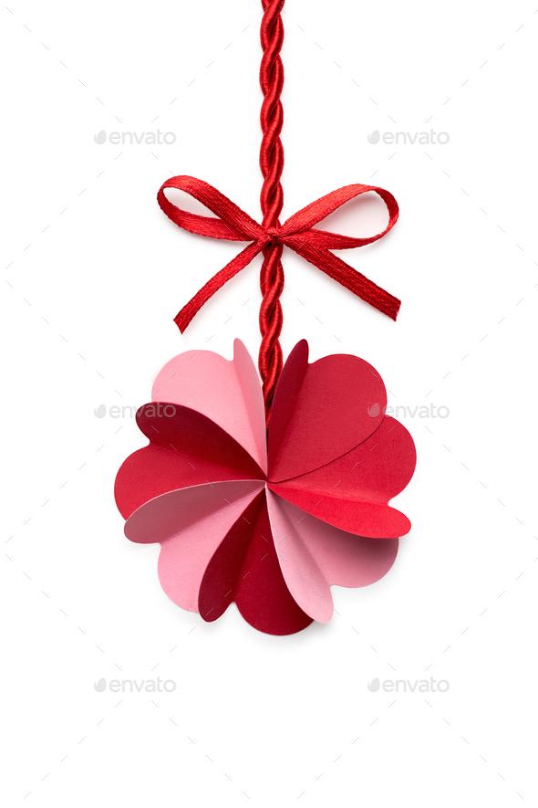 Valentine flower. - Stock Photo - Images
