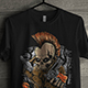 Skull T-Shirt  For Band Merchandising