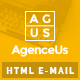 AgenceUs - Responsive Email + StampReady Builder - ThemeForest Item for Sale