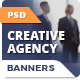 Creative Agency Banners - GraphicRiver Item for Sale