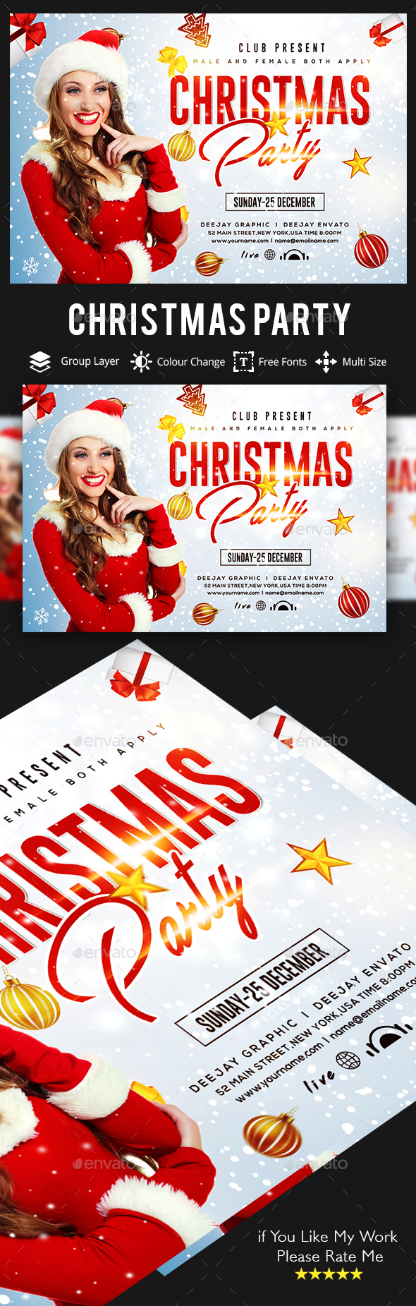 Christmas - Events Flyers
