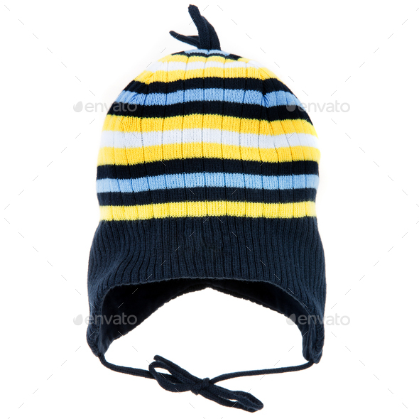 Children's winter hat - Stock Photo - Images