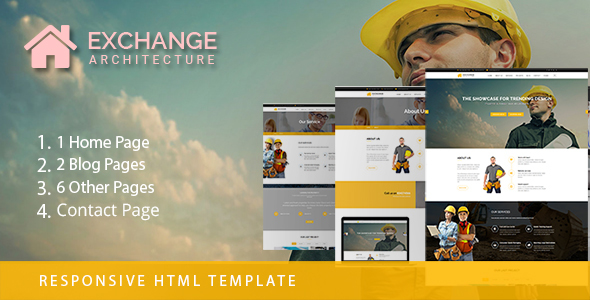 ThemeForest Exchange Architecture Build Up Bootstrap Template 20858783