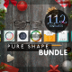 Pure Shape Infographic Bundle 2