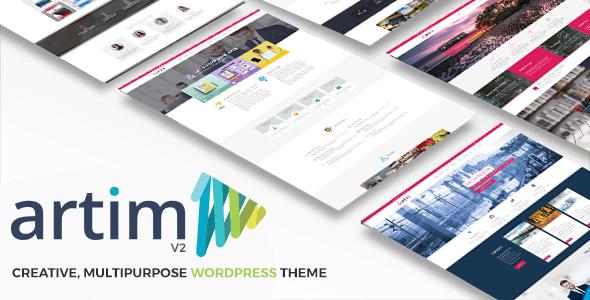 Artim Responsive Multi-Purpose Theme - Business Corporate