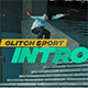 Glitch Sport Intro - VideoHive Item for Sale