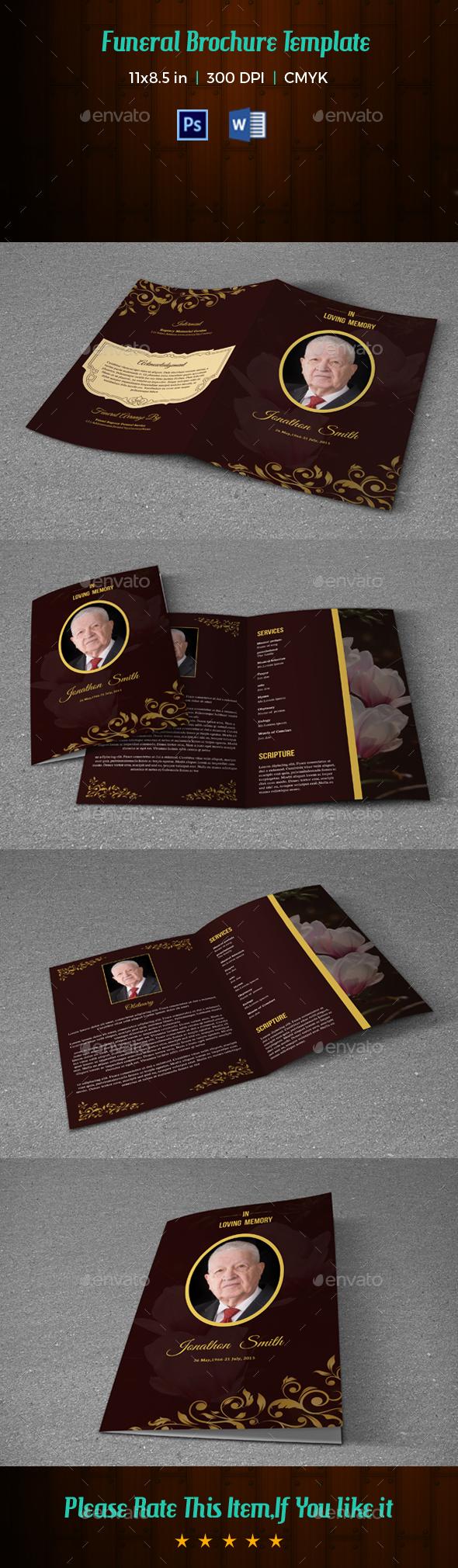 Funeral Template V203 - Informational Brochures