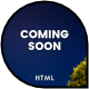 Coming Soon / Landing Page / One Page HTML Template