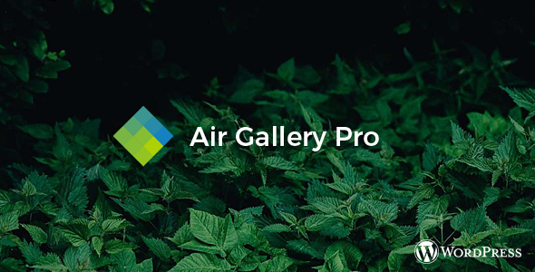 CodeCanyon Air Gallery Pro Wordpress gallery plugin 20930842