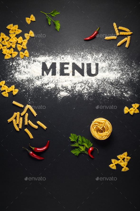 Menu - Stock Photo - Images