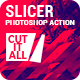 Slicer Photoshop Action