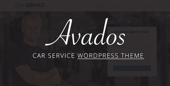 ThemeForest Avados Car Service WordPress Theme 20176884