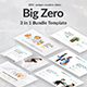 3 in 1 Big Zero Bundle Powerpoint Template