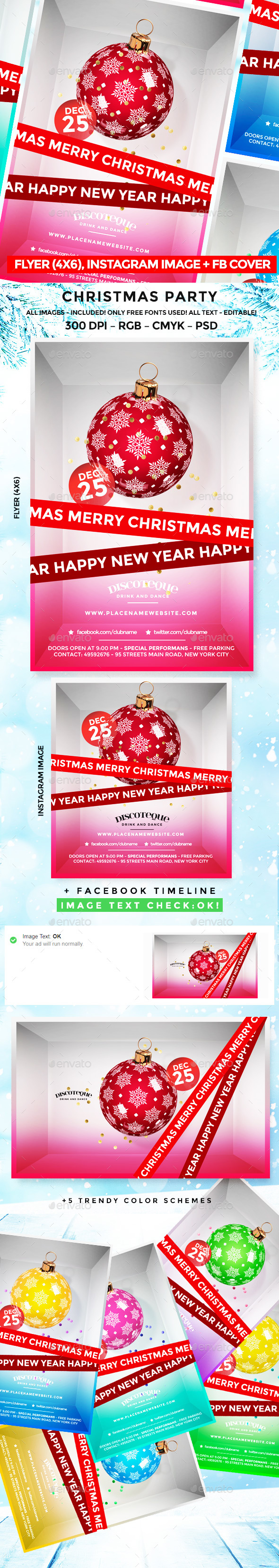 Christmas Flyer - Flyers Print Templates