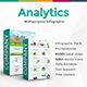 Company Analytics Infographic Powerpoint Template