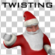 Twisting Santa Claus - VideoHive Item for Sale