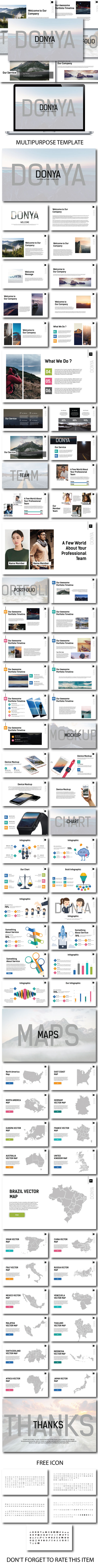 Donya -  Powerpoint Template - PowerPoint Templates Presentation Templates