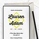 Wedding Invitation Vol.3 - GraphicRiver Item for Sale