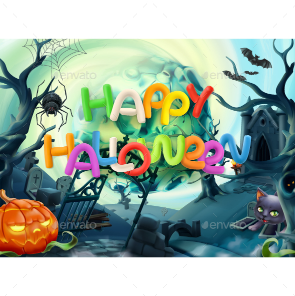GraphicRiver Happy Halloween 20932539