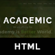Academic Education Based HTML5 Responsive Template - ThemeForest Item for Sale