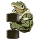 Strong Crocodile - GraphicRiver Item for Sale
