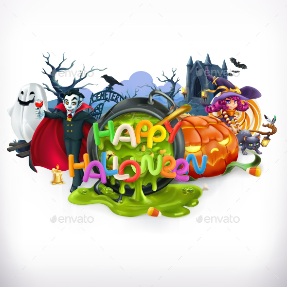 GraphicRiver Happy Halloween 20932706