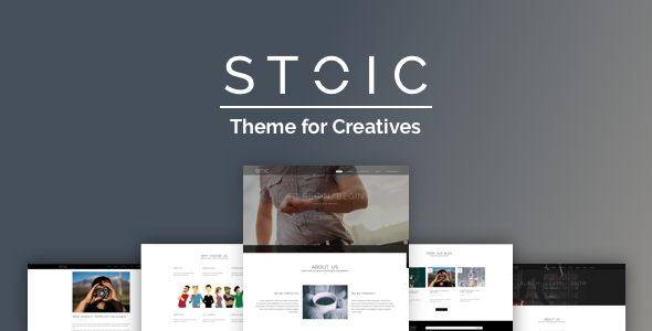 ThemeForest Stoic Multipurpose Responsive WordPress Theme 19423429