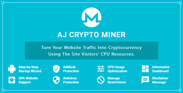 CodeCanyon AJ Crypto Miner for WordPress 20932956
