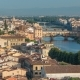 of Florence City  at Sunrise with Arno River Bridges and Historical Buildings - VideoHive Item for Sale