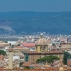 Beautiful Landscape Above , Panorama on Historical View of the Florence From Boboli Gardens Giardino
