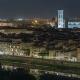 Famous Arnolfo Tower of Palazzo Vecchio  and Basilica Di Santa Maria Del Fiore at Night in Florenc - VideoHive Item for Sale
