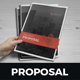 Project & Business Proposal Design v4 - GraphicRiver Item for Sale