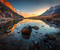 Amazing scene with Himalayan mountains - PhotoDune Item for Sale