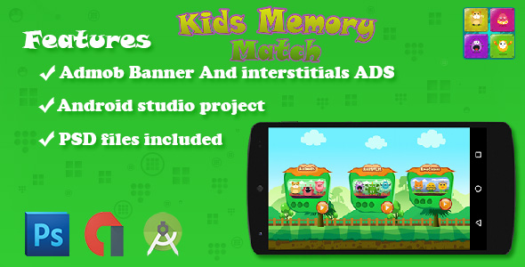 CodeCanyon Memory Games For Kids 20933646