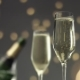Festive Bubbles in a Glass of Sparkling Wine - VideoHive Item for Sale