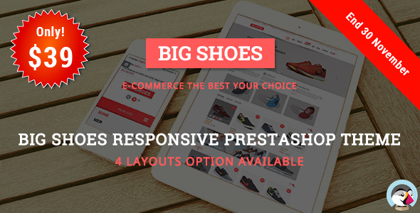 Bigshoes - Shoes Store Responsive Prestashop Theme - Shopping PrestaShop