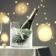 Taking a Bottle of Sparkling Wine From Ice Bucket - VideoHive Item for Sale